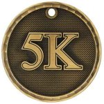 3-D Medal -5K 3-D Series Medal Awards