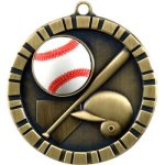 Baseball 3-D 3-D Series Medal Awards