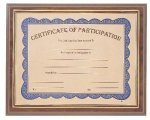 Gold Border Slide-In Certificate Holder Achievement Awards