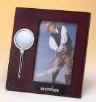 High Gloss Rosewood Finish Photo Frame Boss Gift Awards
