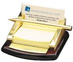Post It, Pen, Business  Card Holder Boss Gift Awards