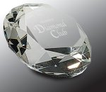 Crystal Diamond Paper Weight Boss Gift Awards