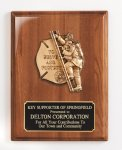 Piano Finish Plaque with Metal Casting Cast Relief Plaques