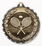 Diamond Cut Medal - Tennis Diamond Cut Medal Awards