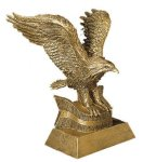 Eagle Resin Figures Eagles Trophies