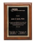 Walnut Piano Finish Corporate Plaque Employee Awards