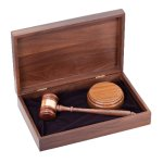 Deluxe Gavels and Presentation Sets Gavel and Sounding Blocks
