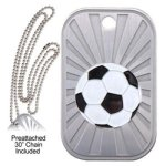 Soccer Dog Tag GL Series Dog Tags