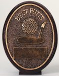 Best Putts Oval Golf Awards
