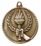 High Relief Medal -Torch High Relief Medallion Awards