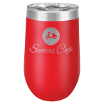 Polar Camel Stemless Tumbler -Red Insulated Tumblers - 16oz