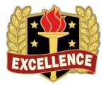 Excellence Pn Lapel Pins