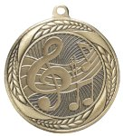 Laurel Medal - Music Note Laurel Medal Awards