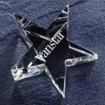 Optic Star Paper Weight Paper Weights
