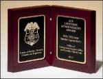 High Gloss Rosewood Book Plaque Piano Finish Plaques