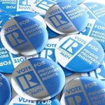 Buttons Promotional Give Aways