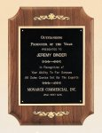 American Walnut Plaque with Decorative Accents Recognition Plaques