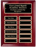 Perpetual Plaque Board with Heavy Lacquer Finish Sales Awards