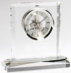 Corporate Crystal Clock Secretary Gift Awards