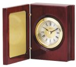 Book Clock With Hinged Cover Secretary Gift Awards