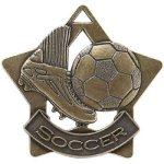 Soccer Star Star Medal Awards
