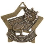 Swimming Star Star Medal Awards