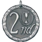 2nd Place Silver XR Series Medal Awards